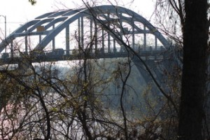 The Edmund Pettus Bridge in Selma, AL. Photo by the UU Living Legacy Project.