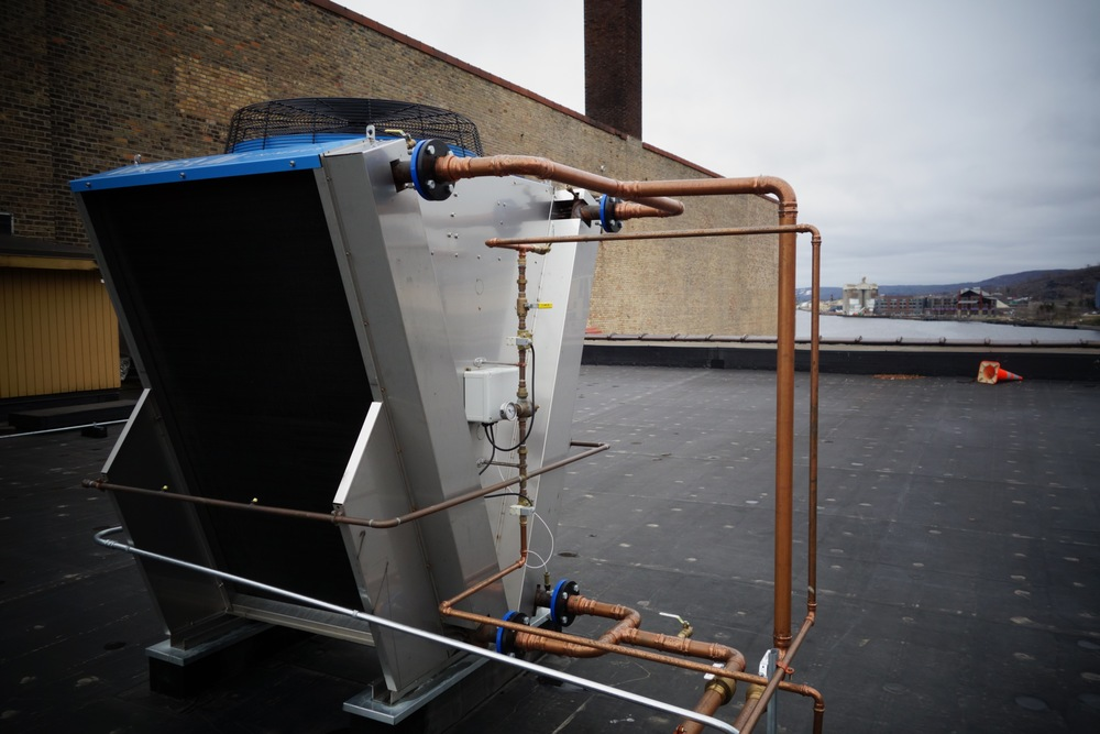 roof top cooler unit
