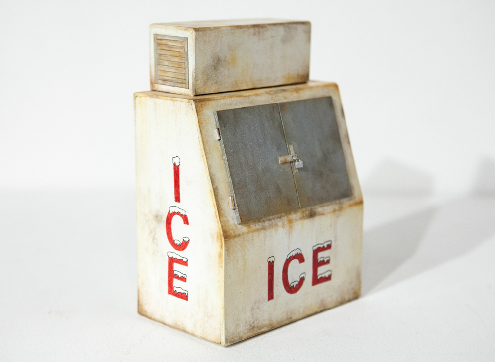 Rusty Ice Box - SOLD