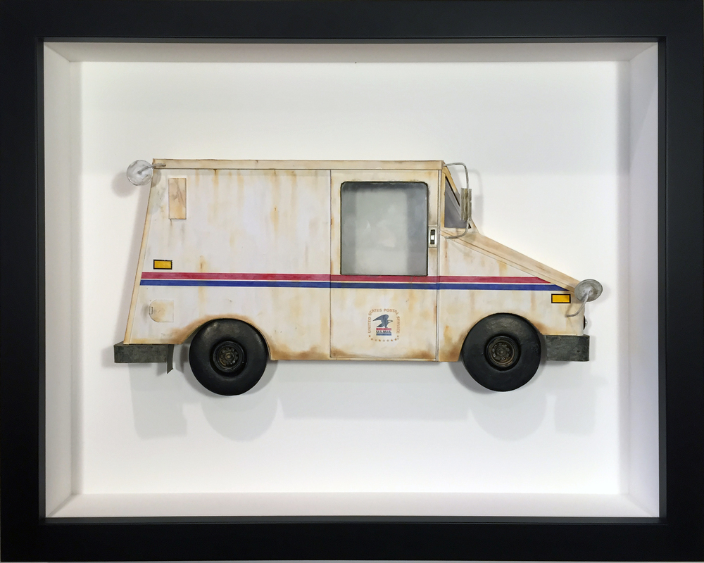 "USPS LLV - 16"" x 20"" - SOLD"