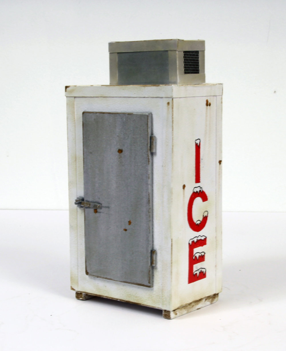 Ice Box (red) - SOLD