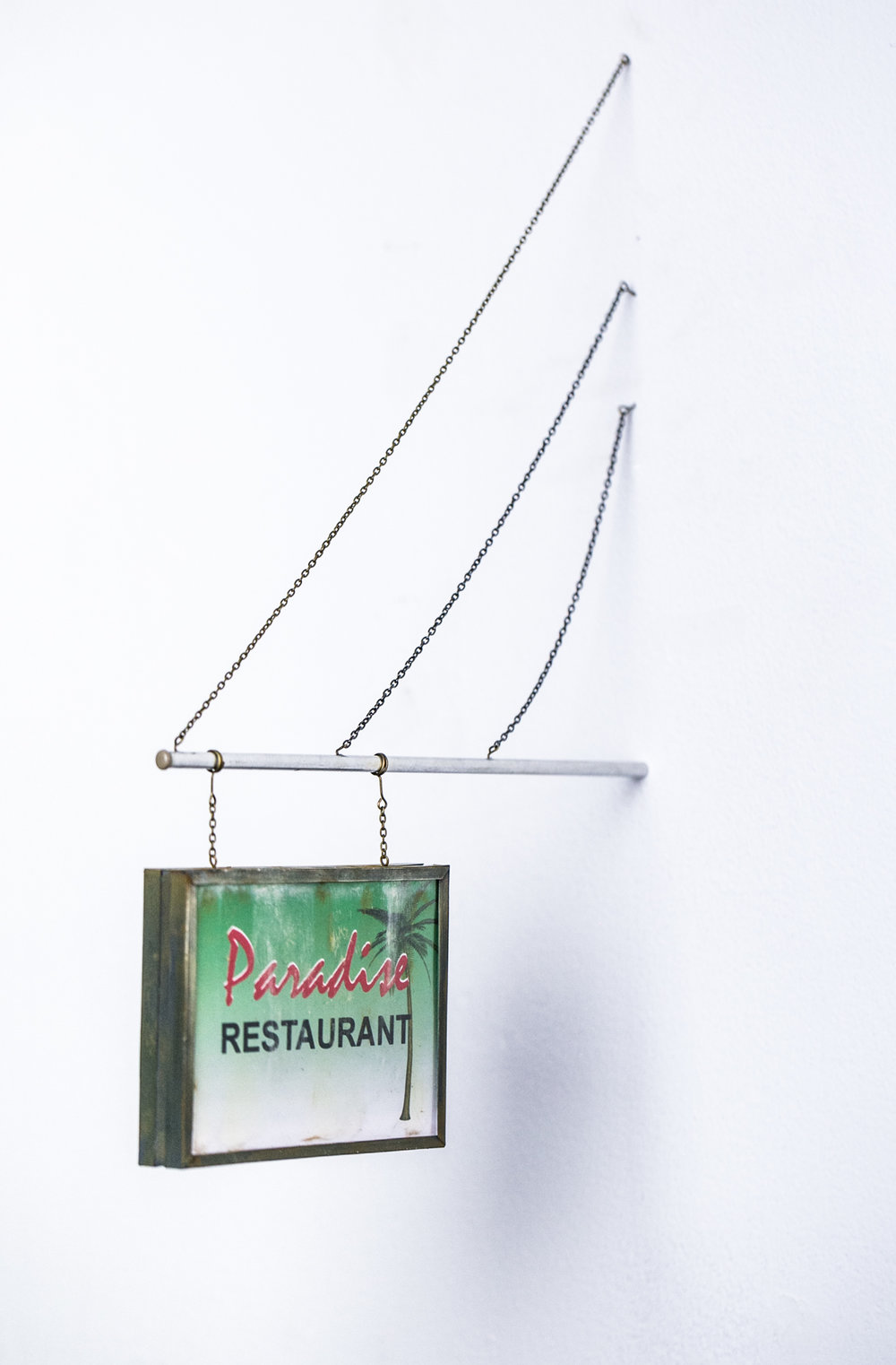 Paradise Restaurant Sign - SOLD