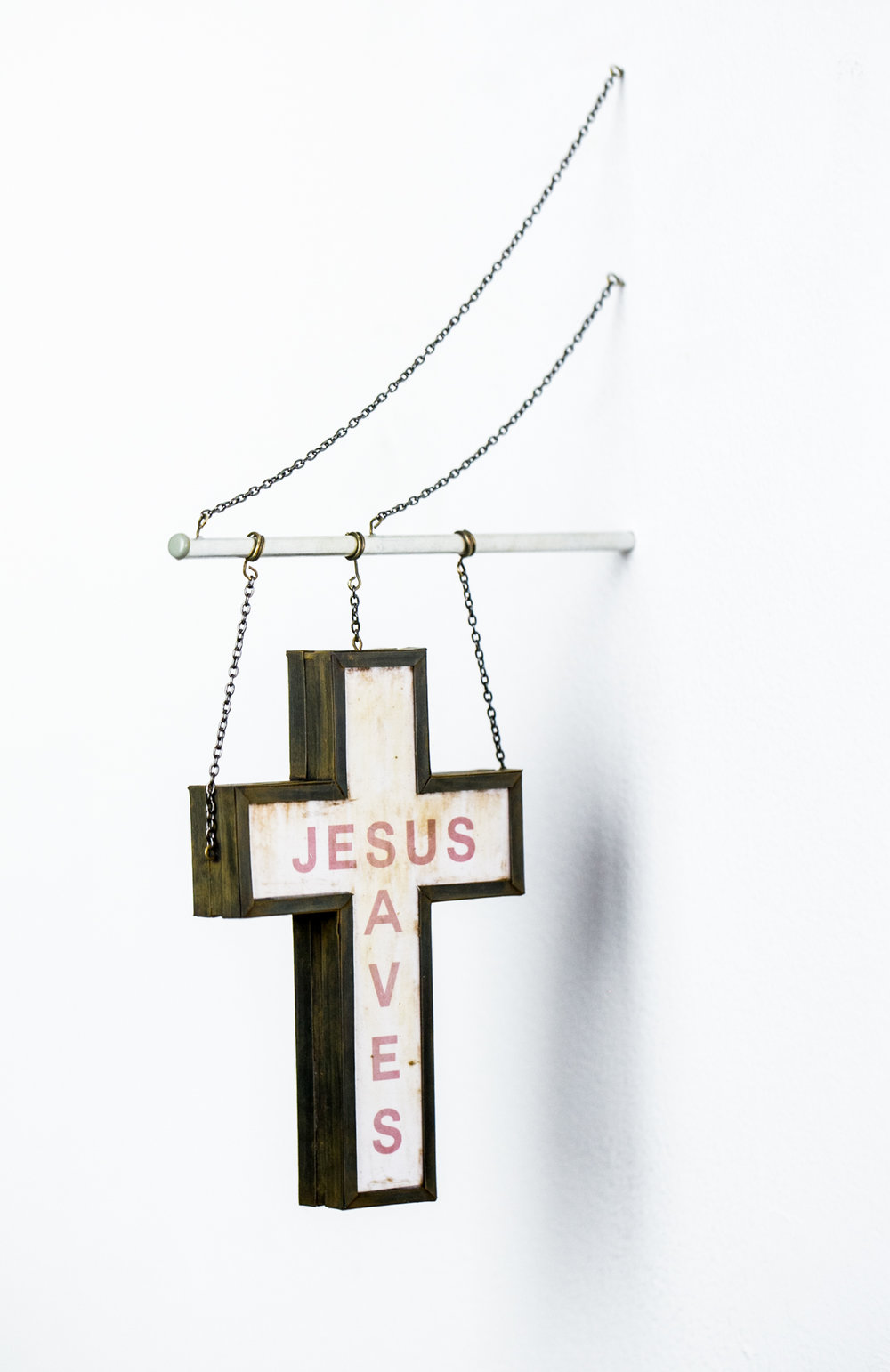 Jesus Saves Sign