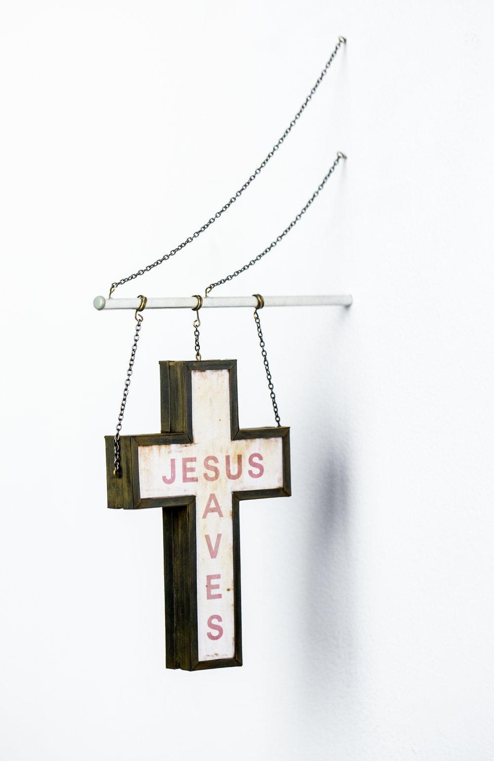 Jesus Saves Sign - SOLD