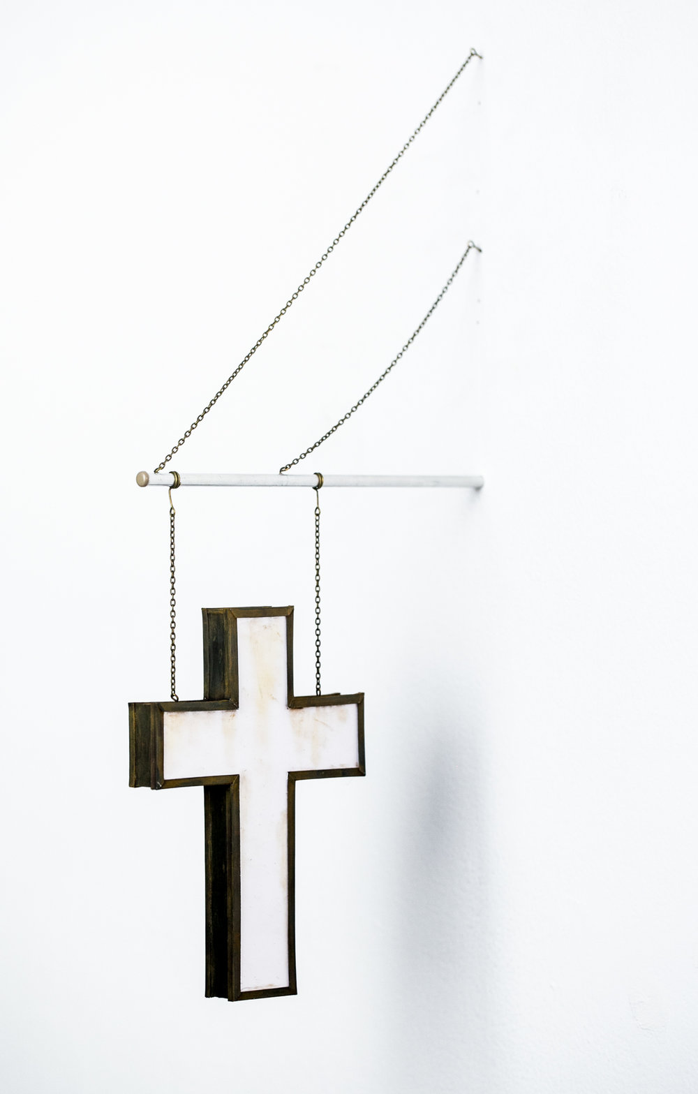 Hanging Cross Sign - SOLD