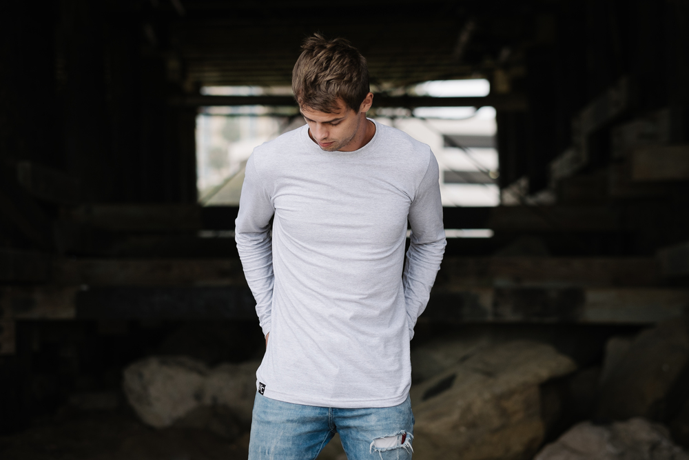Our tailored fit tee shirts are designed to fit slimmer, longer and better. Shop now >