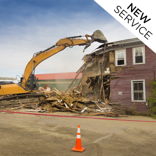 DEMOLITION   Like many of our clients, you might be looking to tear down an existing structure in order to build your dream home from the ground up in one of South Baton Rouge's older, more established neighborhoods. We offer demolition services to clear older homes away for a new custom build.