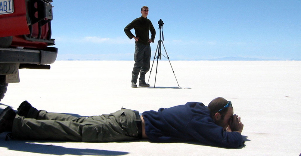 Kluge Shooting on Salar de Uyuni / Bolivia