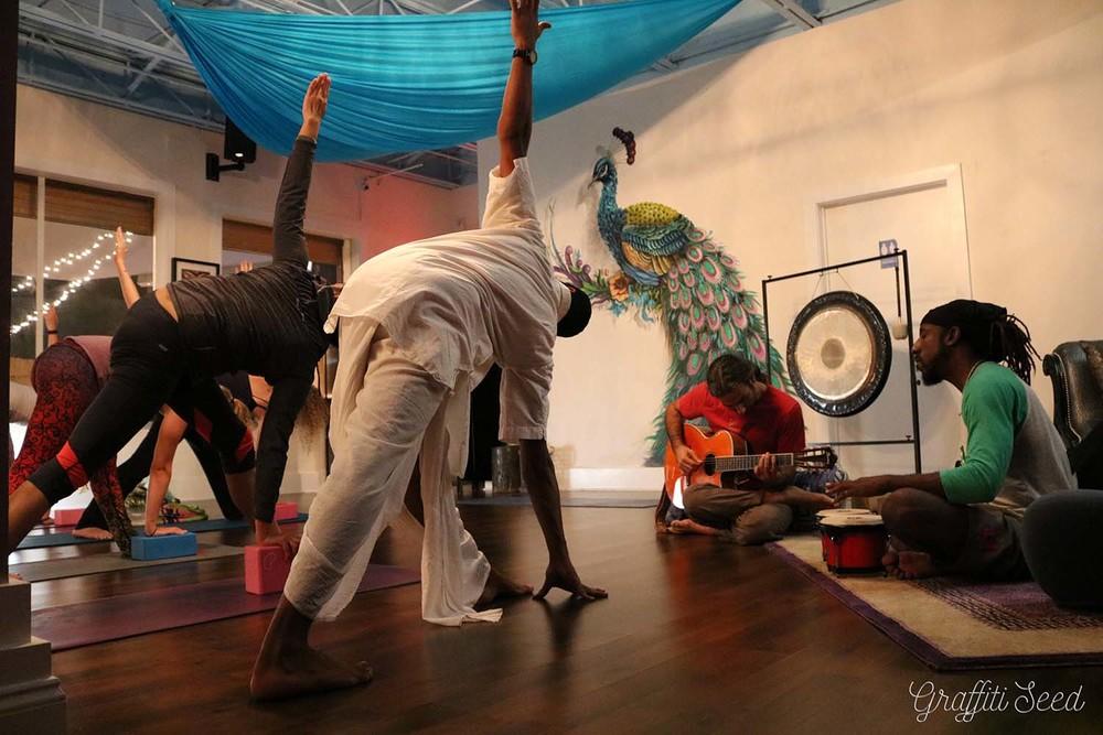 Parivrtta Trikonasana _ Revolved Triangle Pose _Inhale Miami_ Live Music Raj Yoga w_ Sujal P. _ The Natural Mystics.jpg
