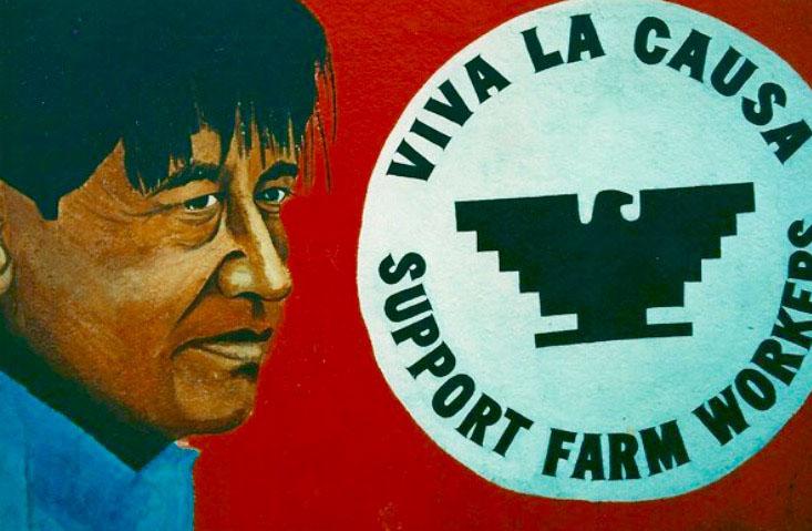 Cesar Chavez, %22Y Tu y Yo y Cesar%22 Mural 1995.jpg