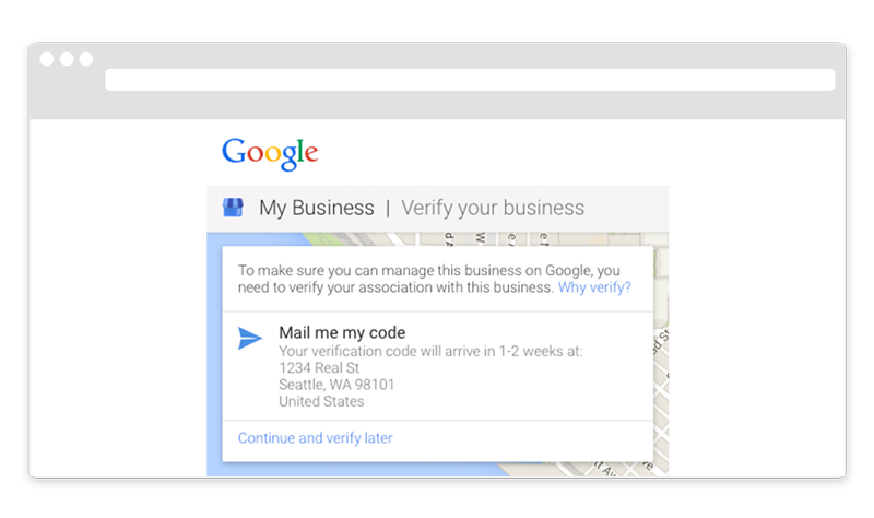 Google Maps Verification Verify Your Business