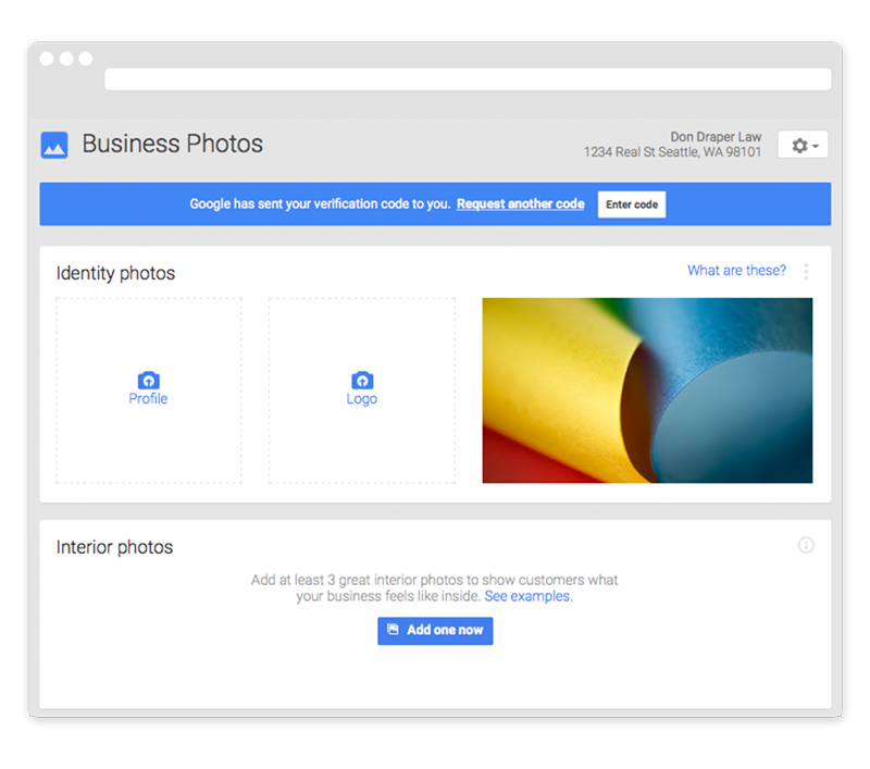 Google My Business Google Places photos