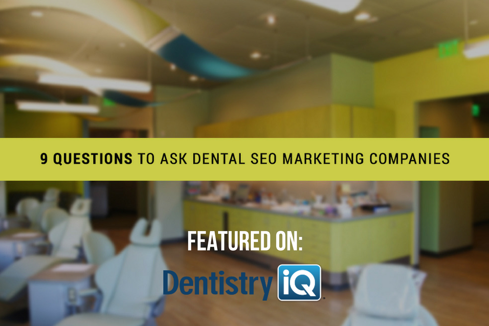 questions to ask dental marketing companies