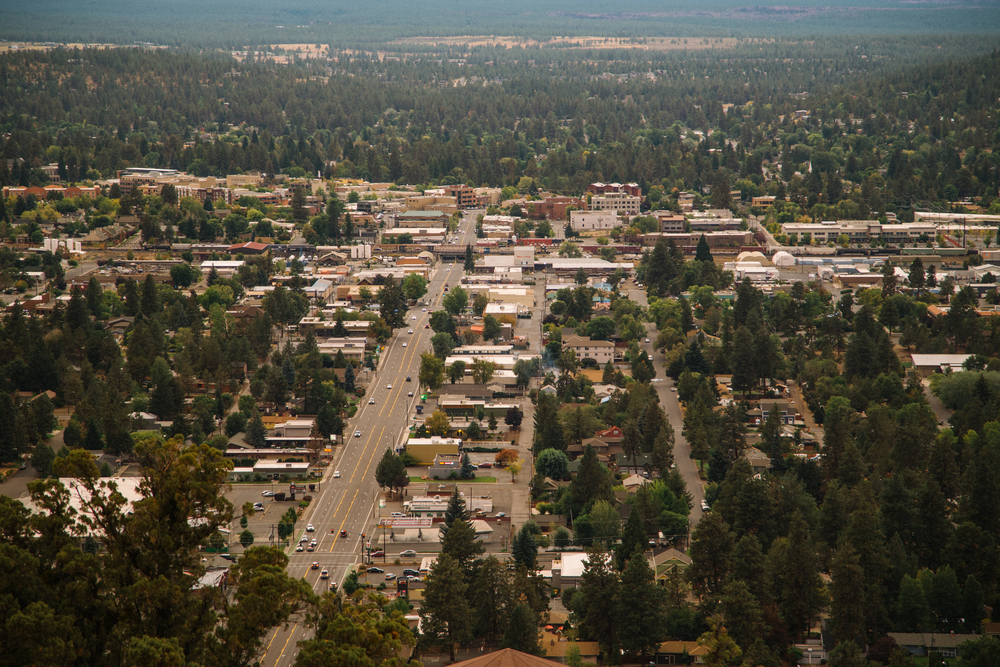 Hike up the Butte to see all of Bend.