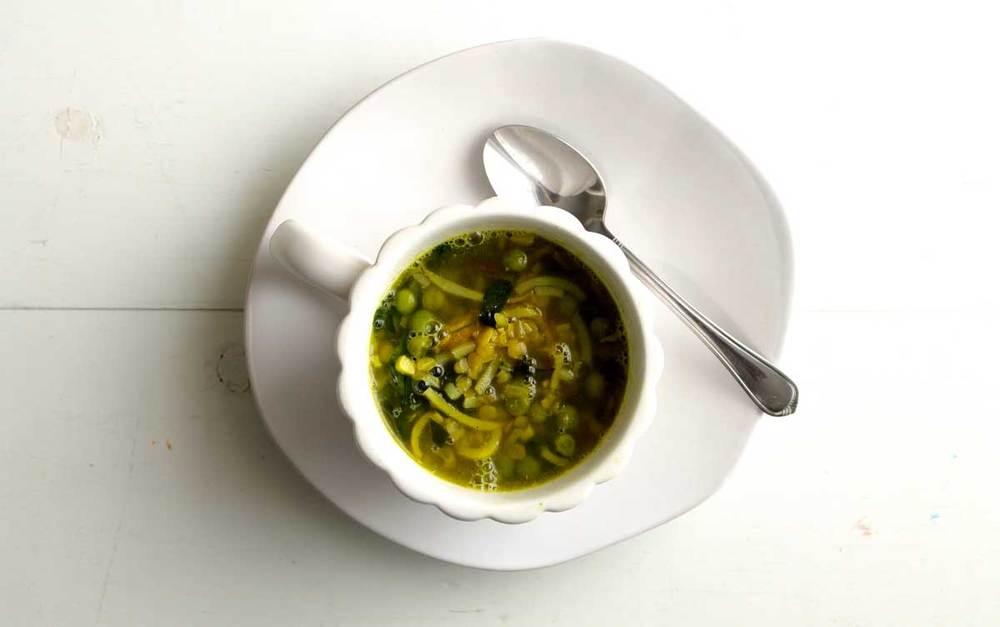 Root Noodle Soup