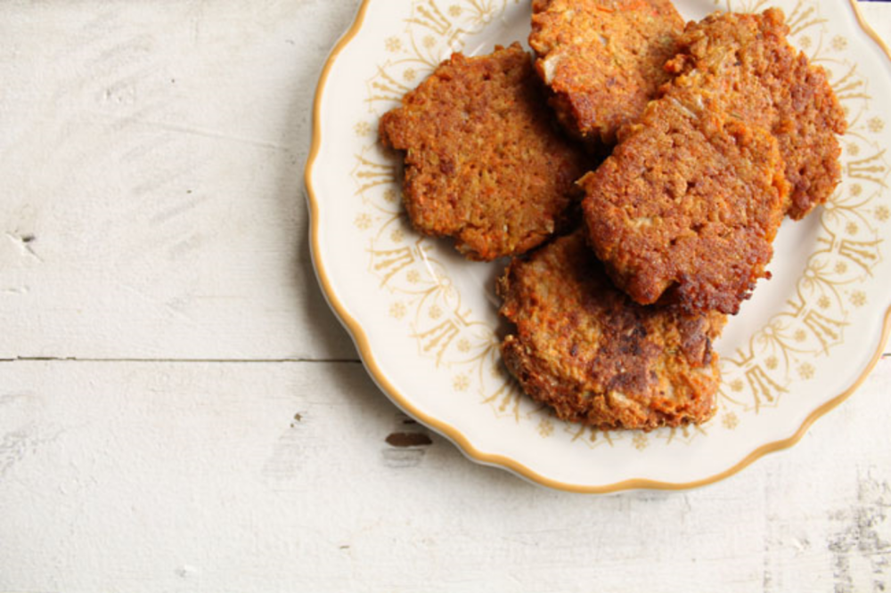 carrot cake patties