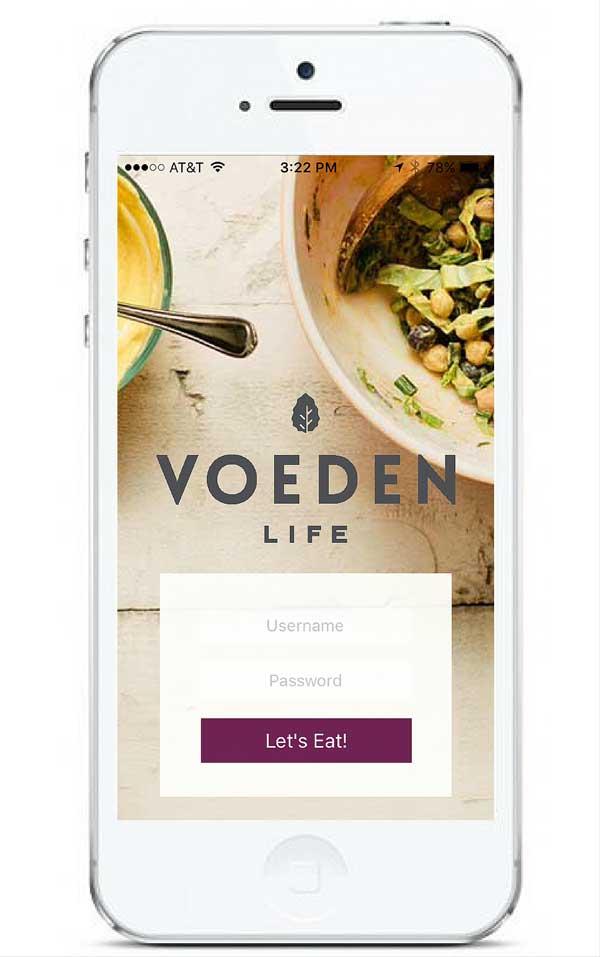Voeden Life iOS App