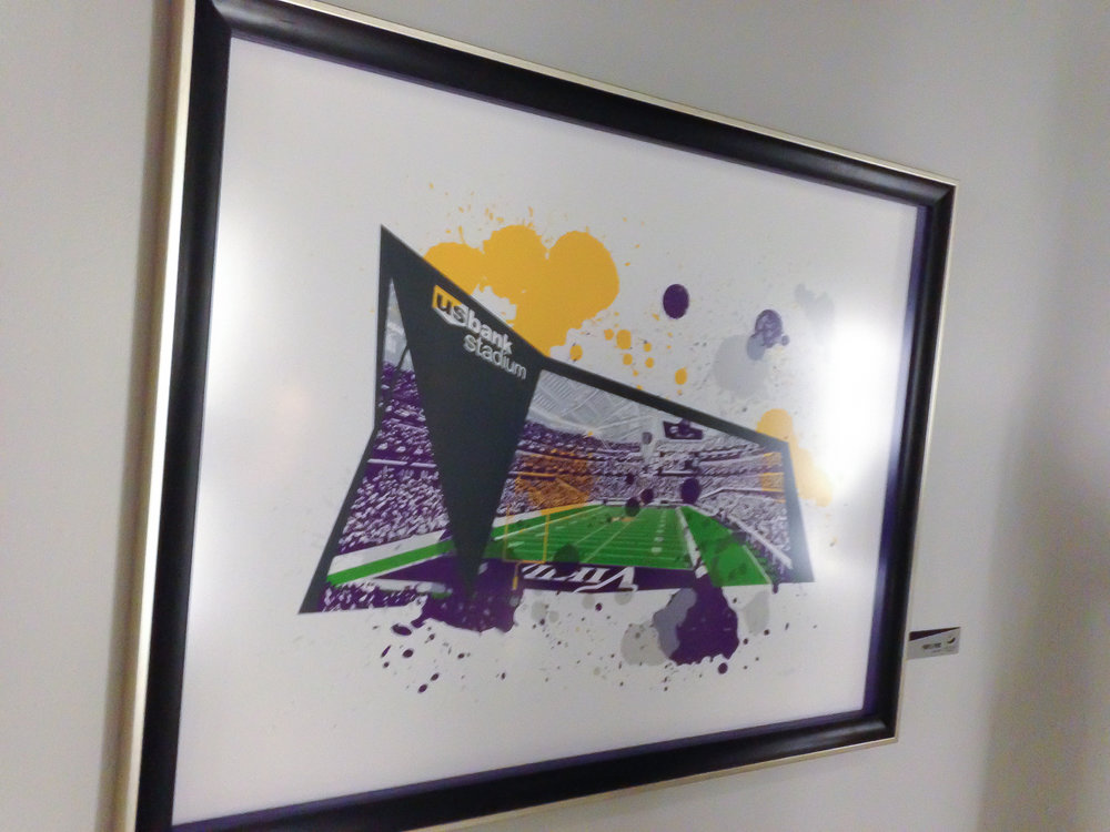 Copy of Screen printed piece - Purple Pride