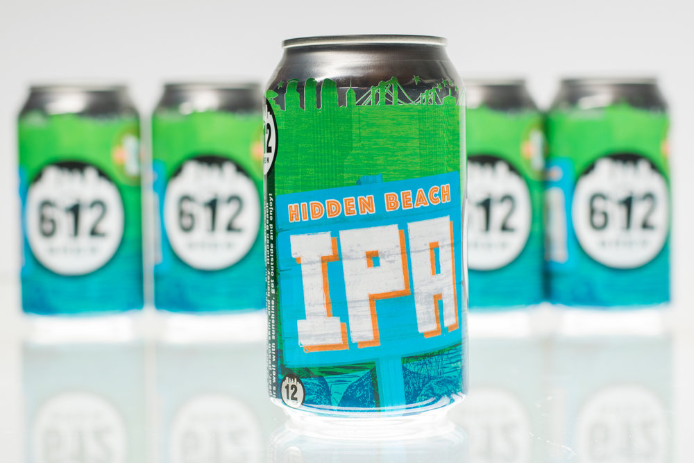 612Brew Hidden Beach Can Design