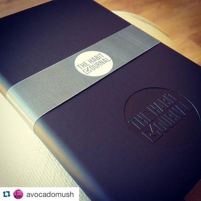 #Repost @avocadomush ・・・ Snazzy Habit Journal! - @thehabitjournal  #thehabitjournal #trustinsmallsteps #keepthingssimple #begrateful #makeyourgoalsreality #dailyhabits #motivation #continuouseffort #daytodayhabits #dailyhabits #cleanliving