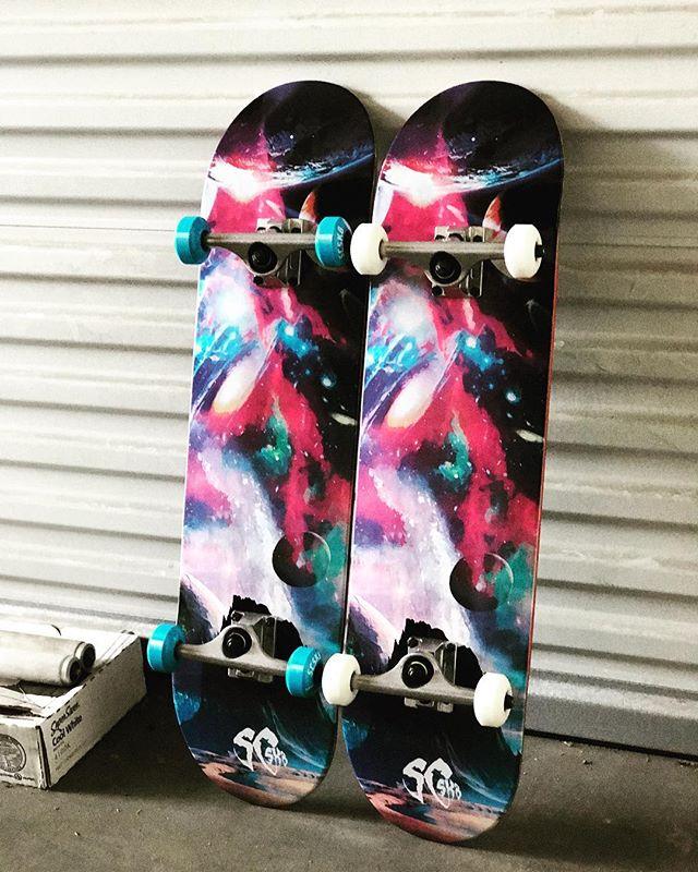 SCSK8 GALAXY ☄️ #scsk8 #skateboarding #skate #skatelife #skateordie #skateboard #skateallday #instadaily