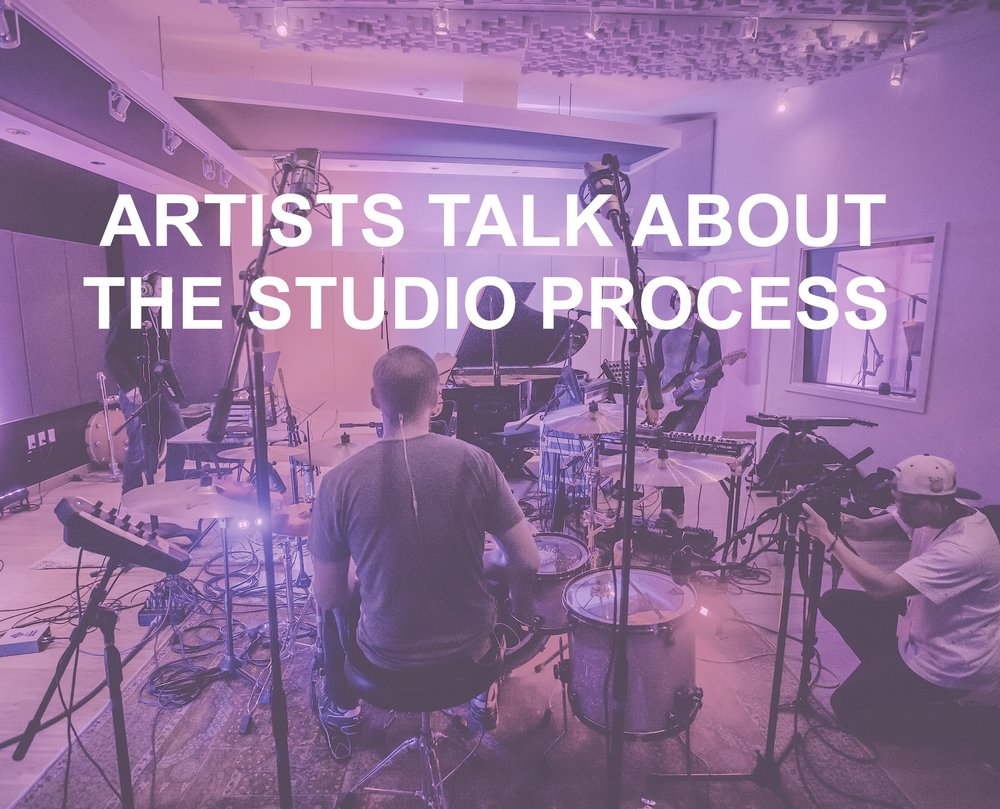 ARTISTS STUDIO PROCESS