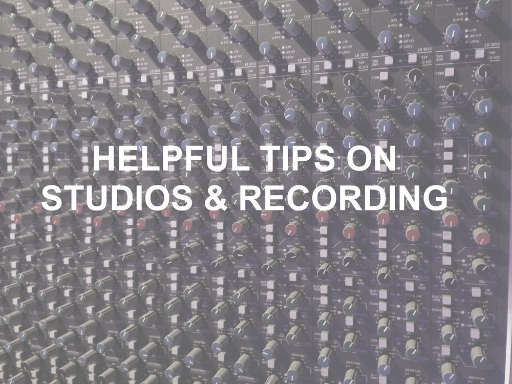 studio & recording tips