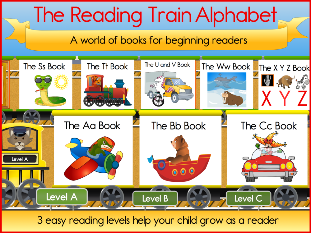 DOWNLOAD The Reading Train Alphabet