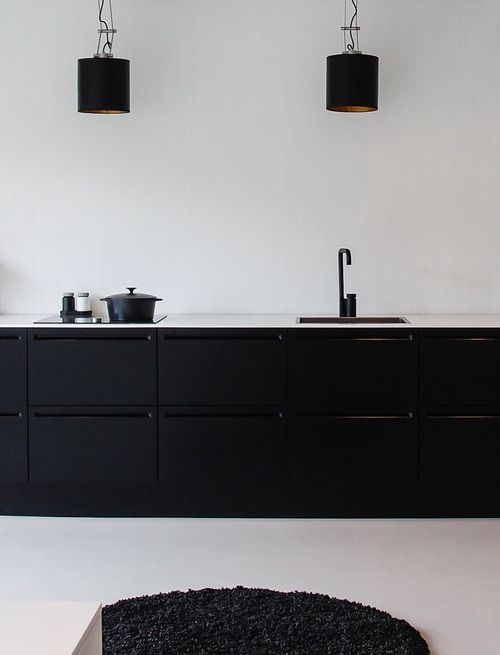 Black Fixtures // THE FINISH BLOG