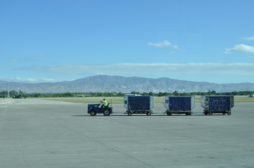 One of the first photos we took after we landed. Mountains upon mountains.