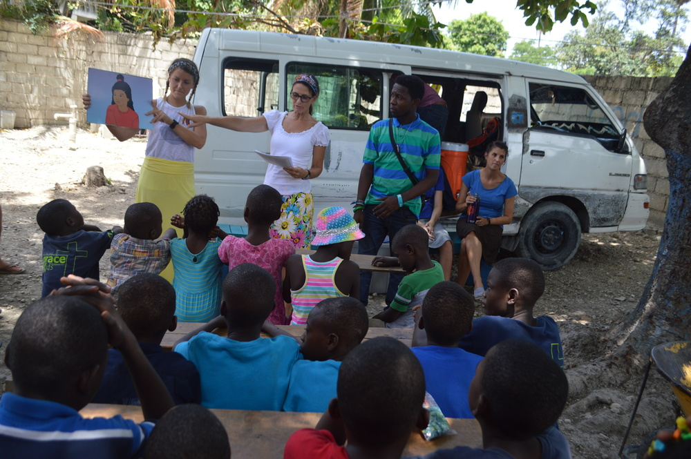 Teams conduct VBS-style outreaches in a number of places.