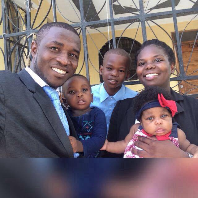 Steeve, Caleb, Stevenly, Manoucheka, and Lorie