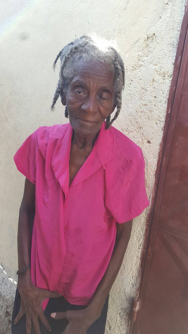 Meet Twouka - Twouka is an 80 year old woman who lives with two of her daughters. She goes to church at Lewis Memorial.We think one goat, oil for cooking, and a big bag of rice will help her have a wonderful Christmas.Showing love to Twouka in a practical way is Community Development. She is our neighbor. She is our friend. We love her and want to help her have a great Christmas.Please join us in blessing her with the gifts below.