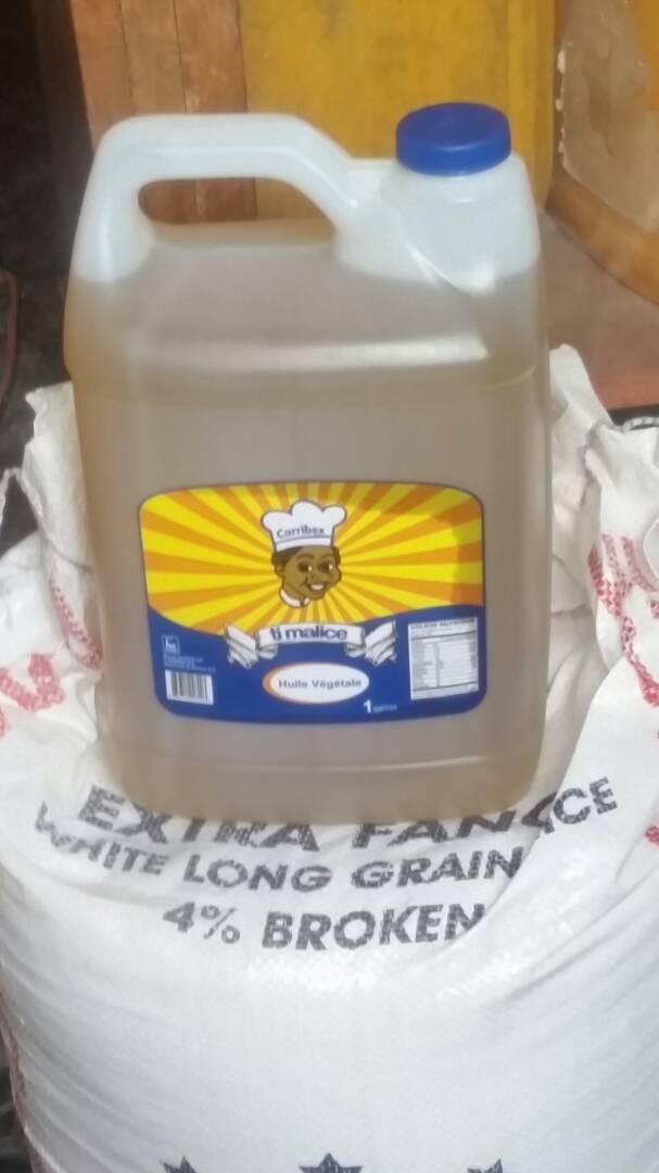 Gallon of oil - $10