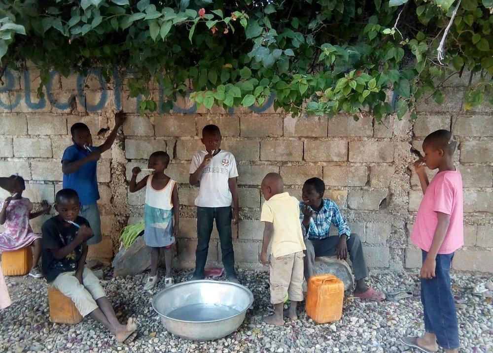 1st morning in our care children.jpg