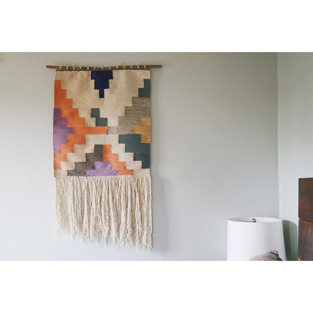 the beauty of mexico brought home in this amazing wall hanging i'm absolutely in love with by evokethespirit