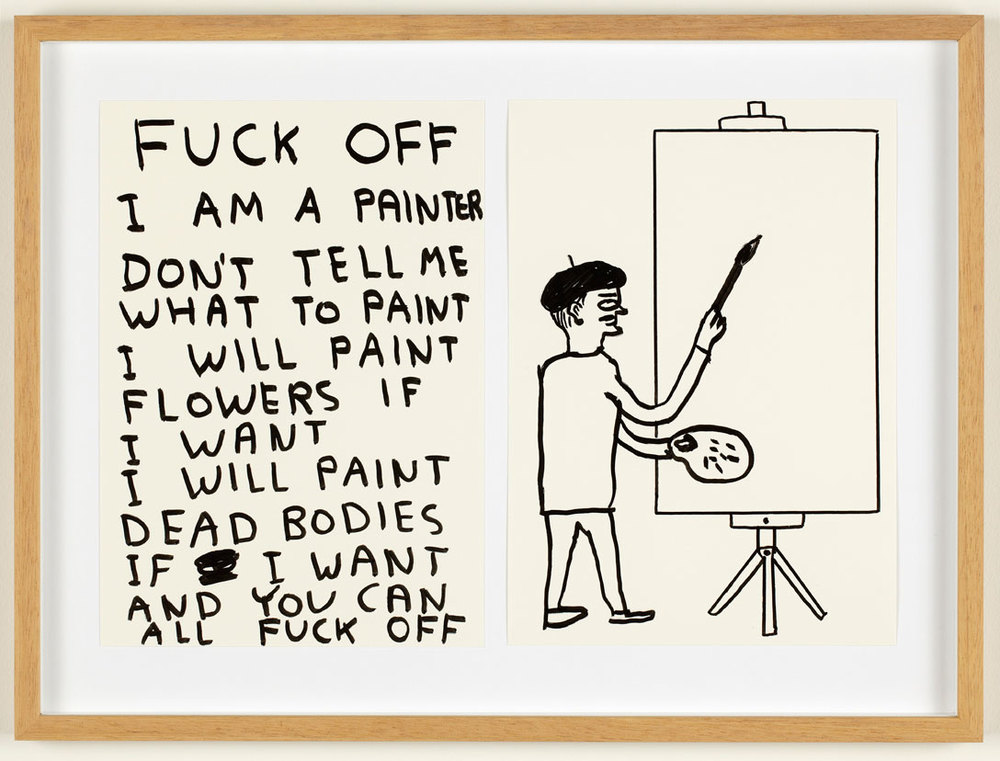 David Shrigley, hilarious print