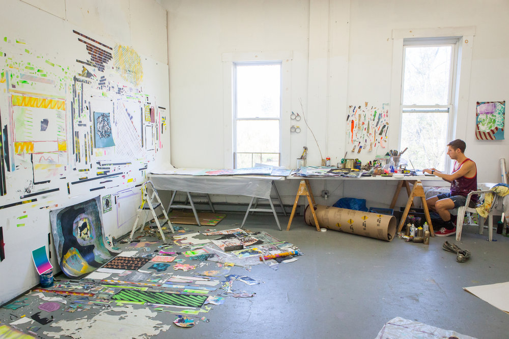 Painting Studio, Vermont Studio Center