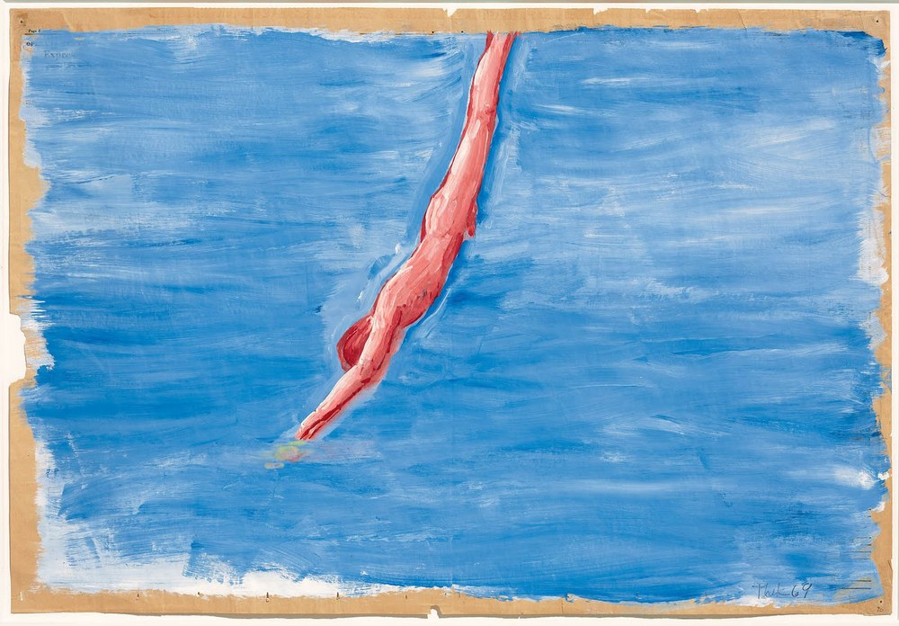 Paul Thek, Untitled (Diver), 1969-1970