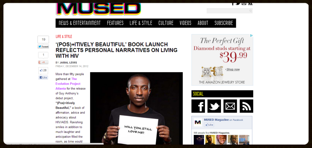 MUSED Magazine Online