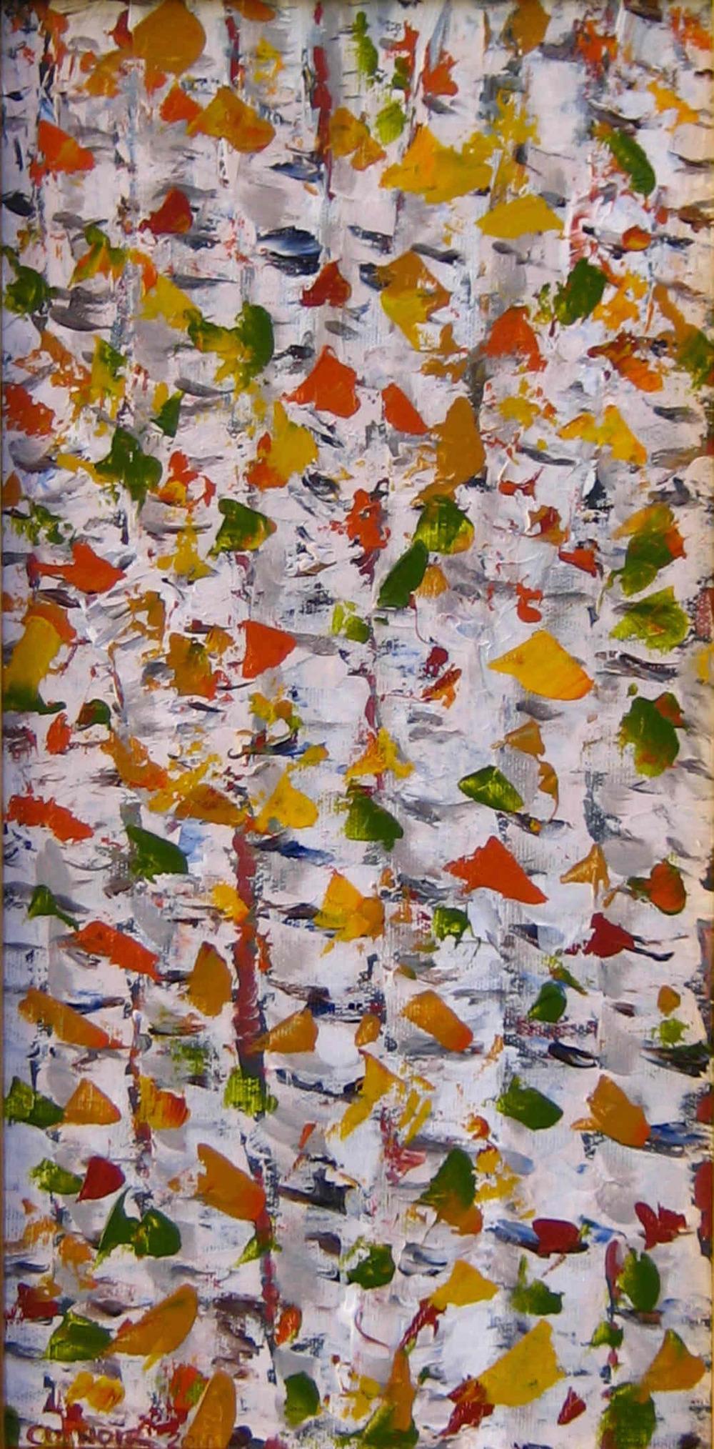 Birches #3, 12x6, acrylic on canvas.jpg