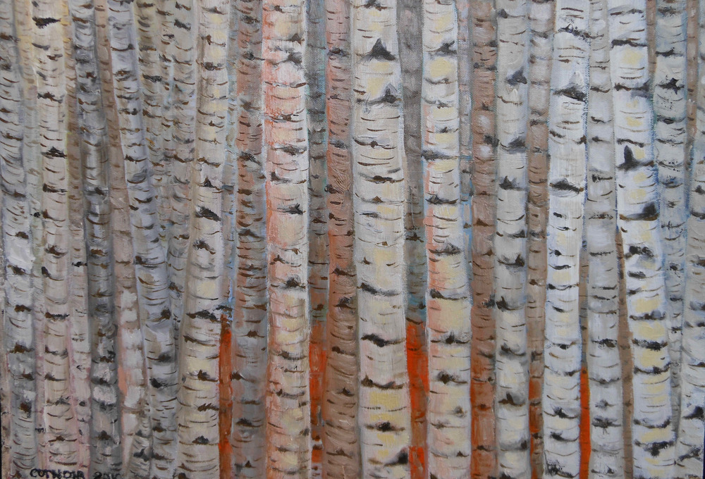 Birches No. 1