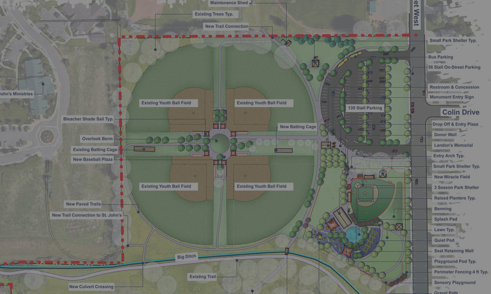POLY VISTA PARK MASTER PLAN - Billings, MT