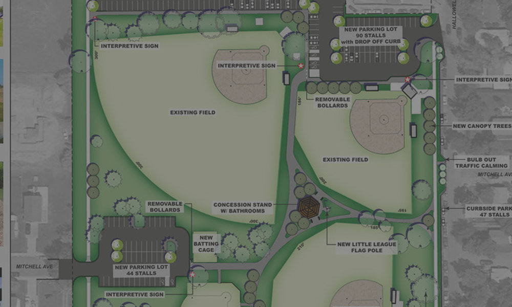 OPTIMIST PARK MASTER PLAN - Billings, MT