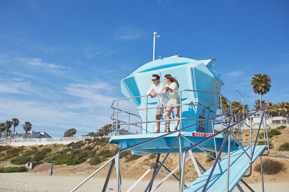 Lifestyle campaign for Visit Carlsbad. Colors of travel in partnership with Pantone.