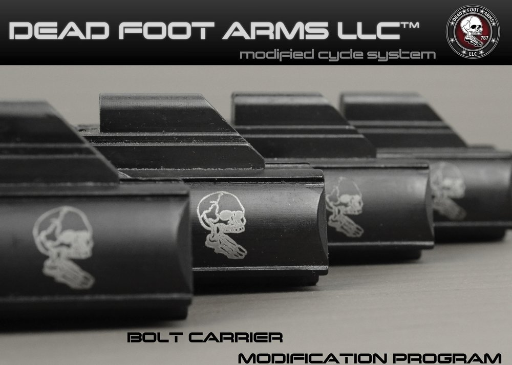 BOLT CARRIER MODIFICATION- LEARN MORE