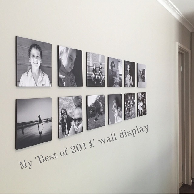 Want a cool project to display your best photos from 2014 in your home? On my new blog, Delight & Wonder, I share how I made this wall collage with 12 of my favorite photos from last year. It's super easy with Collect and @persnicketyprints! - Stuart - Find it here: delightandwonder.com