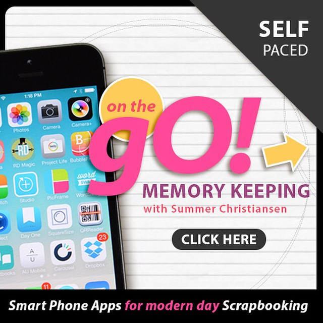 Looking to master memory keeping on your phone? Summer Christiansen @suludigitaldesigns has a new, self-paced workshop on how to streamline your scrapbooking using mobile apps on your iPhone or Android device. She covers a lot of apps (including Collect) in a series of online modules and shares her best tips for staying organized and up-to-date while on the go. Check out course from the link on her profile - @suludigitaldesigns #memorykeeping #collectphotoapp #onthego