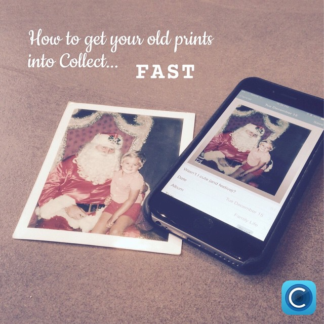 From the blog: A super-fast way to scan and get old printed photos into Collect. Check it out on delightandwonder.com (yes, that's me in the photo...a looong time ago 😊) - Stuart #collectphotoapp #delightandwonder #prints #memorykeeping
