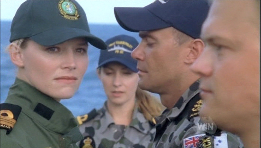 """Cynthia"" in Sea Patrol"